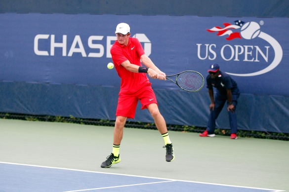 Tommy Paul in action.  Photo Credit: USTA